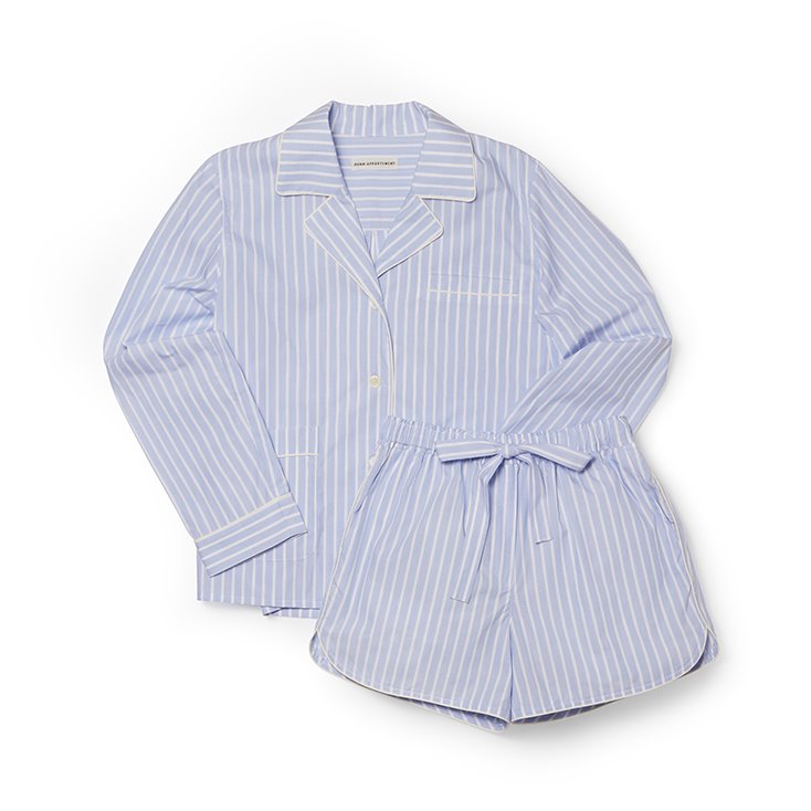 Stripe Cotton Pajama Set